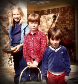 Jennifer, Josh & Eric - Circa 1982