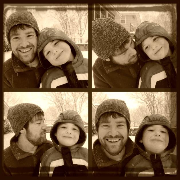 Daddy & Elijah - Retro Film - 02.25.15